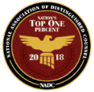 Attorney Top One Percent 2018